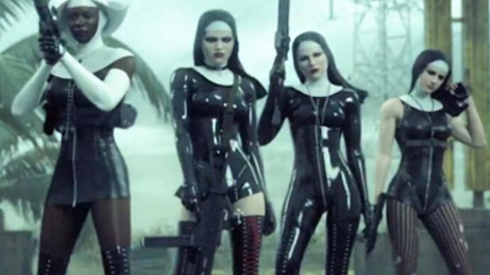 Hitman Absolution level changed due to negative nun trailerreaction