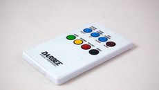 A slim white remote control also comes supplied in the box. While the Darblet still needs to be visible for it to work, direct line of sight is not required as long as you point it in the right direction.