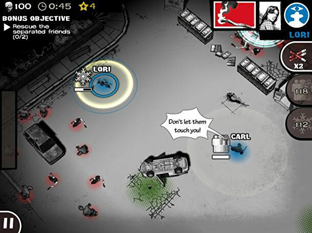 The Walking Dead: Assault is an isometric strategy game on iOS