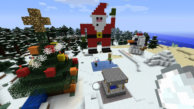 Let's Play Minecraft: Christmas Challenge Special