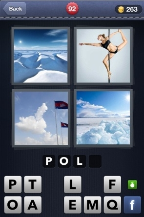 4 Pics 1 Word Cheats: 4 Letter Words Part 2 - AOL Games
