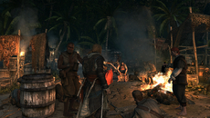 Current-gen entries in the series already render up to a hundred characters on-screen at once, such as Assassin Creed 3's opening auditorium sequence, whereas Black Flag intends to branch out in a similar fashion with its wildlife.