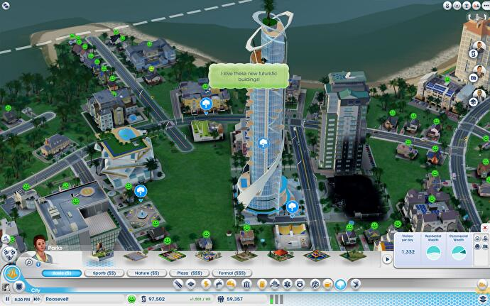 SimCity: Cities of Tomorrow review • Eurogamer net