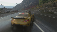 Topping the bill of DriveClub's attractions is the post-release weather update. It's more than a skin-deep addition - vehicle traction alters as the road becomes more waterlogged.