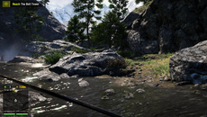 One improvement over last-gen versions is draw distance. Cliffsides and trees show minor LOD pop-in while hang-gliding, but generally the world is far more consistent.