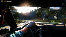 The dynamic time of day shifts the look of the landscape, though we've yet to see light shafts in use on PS4 - as previously seen in Far Cry 3 on PC.