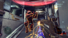 Neither map included in this sampler stretches Xbox One in terms of texture quality. Specular and bump mapping are present, but levels in Halo 4 (as seen in TMCC) trump these for terrain detail - indicating we can expect better from H5's bigger levels.