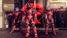 Modelling on Spartans is also meticulously handled – the lighting once again bringing out a soft, toned quality to the red-dyed armour materials here.
