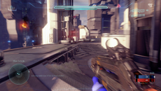 For quick boost strafes, forward charges, and grenade bursts, motion blur is introduced in a similar manner to Call of Duty Advanced Warfare.