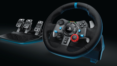 The G29, Logitech's new wheel for PlayStation