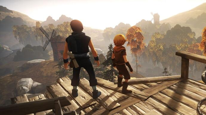 Brothers: A Tale of Two Sons shows off gameplay, unique controlscheme