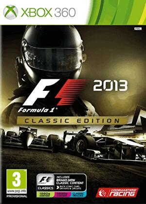 F1 2013 announced, available in standard and premium 'Classic