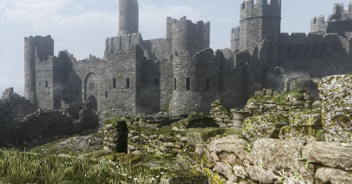 Call Of Duty Ghosts Medieval Castle Map Is Large Enough