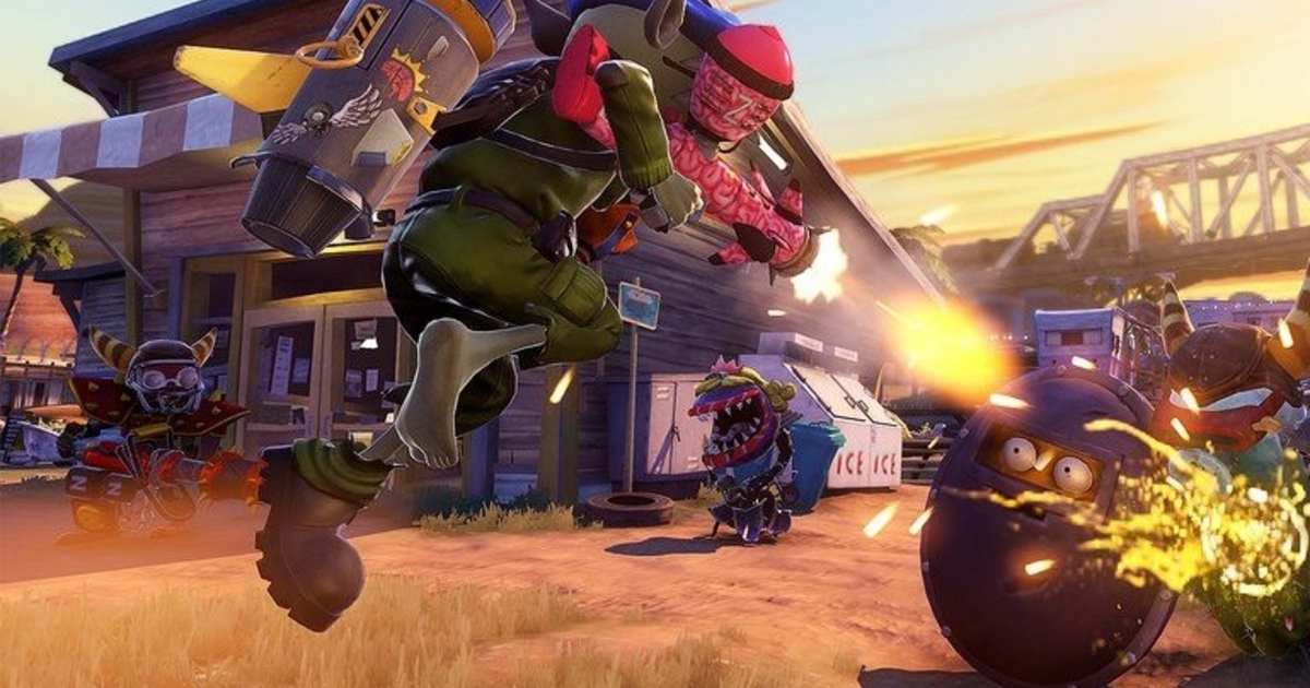 Plants Vs Zombies Garden Warfare Comes To Ps4 In 1080p60