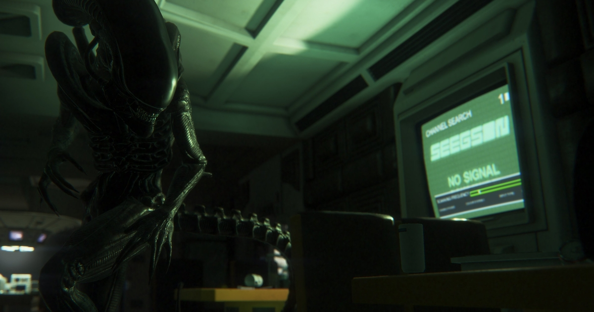 Weapons Are Never The Solution In Alien Isolation