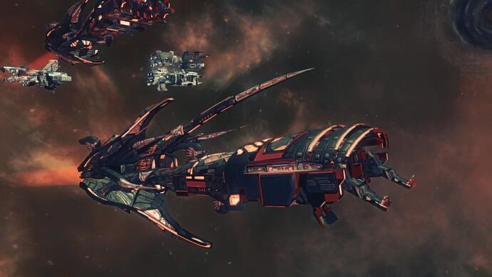 Paradox unveils single-player space RTS AncientSpace