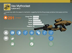 Is the vex mythoclast overpowered should it be nerfed or is it legit