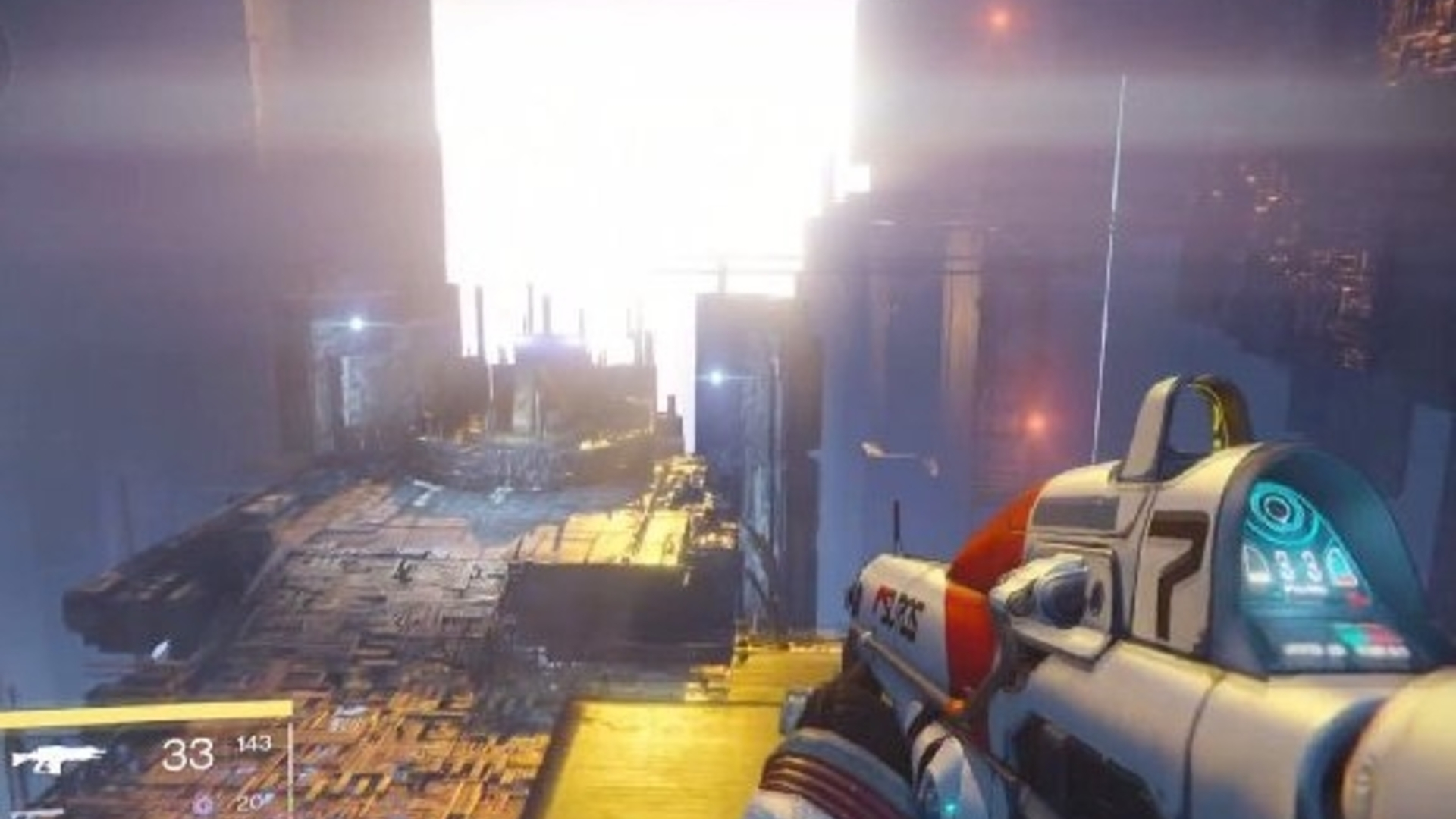 Destiny player finds way to access future DLC area
