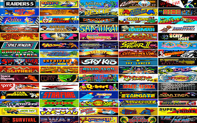 The Internet Arcade lets you play 900 classic games for free in your