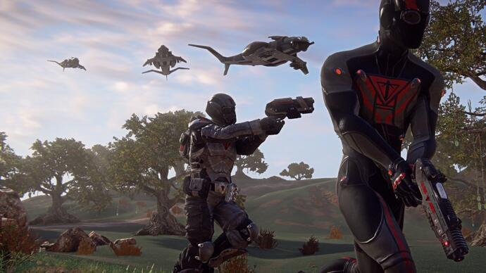 PlanetSide 2 PS4 beta planned for2014