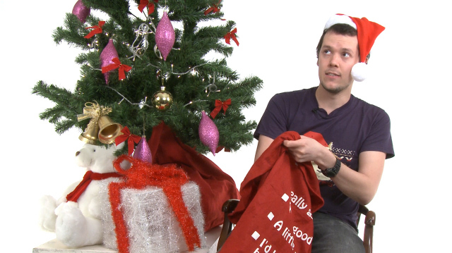 Oxbox Xmas Challenge Returns with Charlie Brooker Testicle Explosion