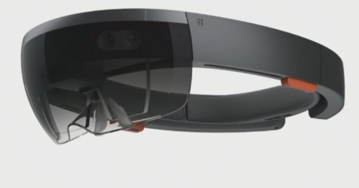 Microsoft Hololens Is A New Ar Headset Computer