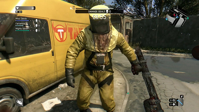 Mike Kicks, Explodes Zombies in Dying Light Co-op Gameplay