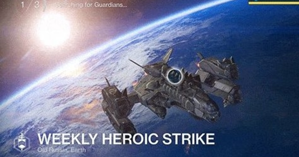 Destiny Update Adds Matchmaking to Weekly Heroic Strikes Game Rant