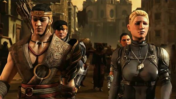 Cassie Cage Haircut Cassie Cage Leads a Group of
