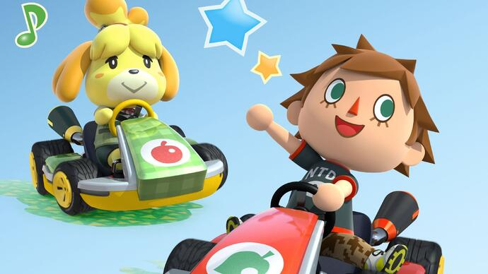 Mario Kart 8 x Animal Crossing DLCreview