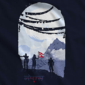 bungie launches destiny charity shirt for nepal • eurogamer