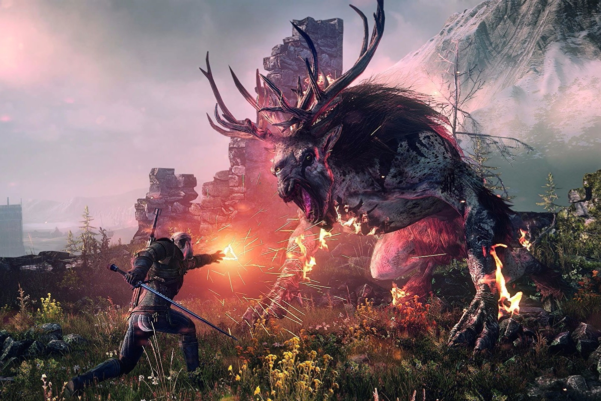 The Witcher 3 - The Battle of Kaer Morhen, close the portals, fight the Wild Hunt