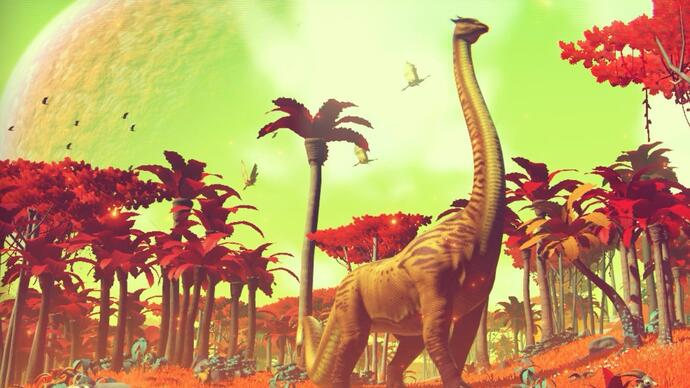 No Man's Sky si mostra in un nuovo video digameplay
