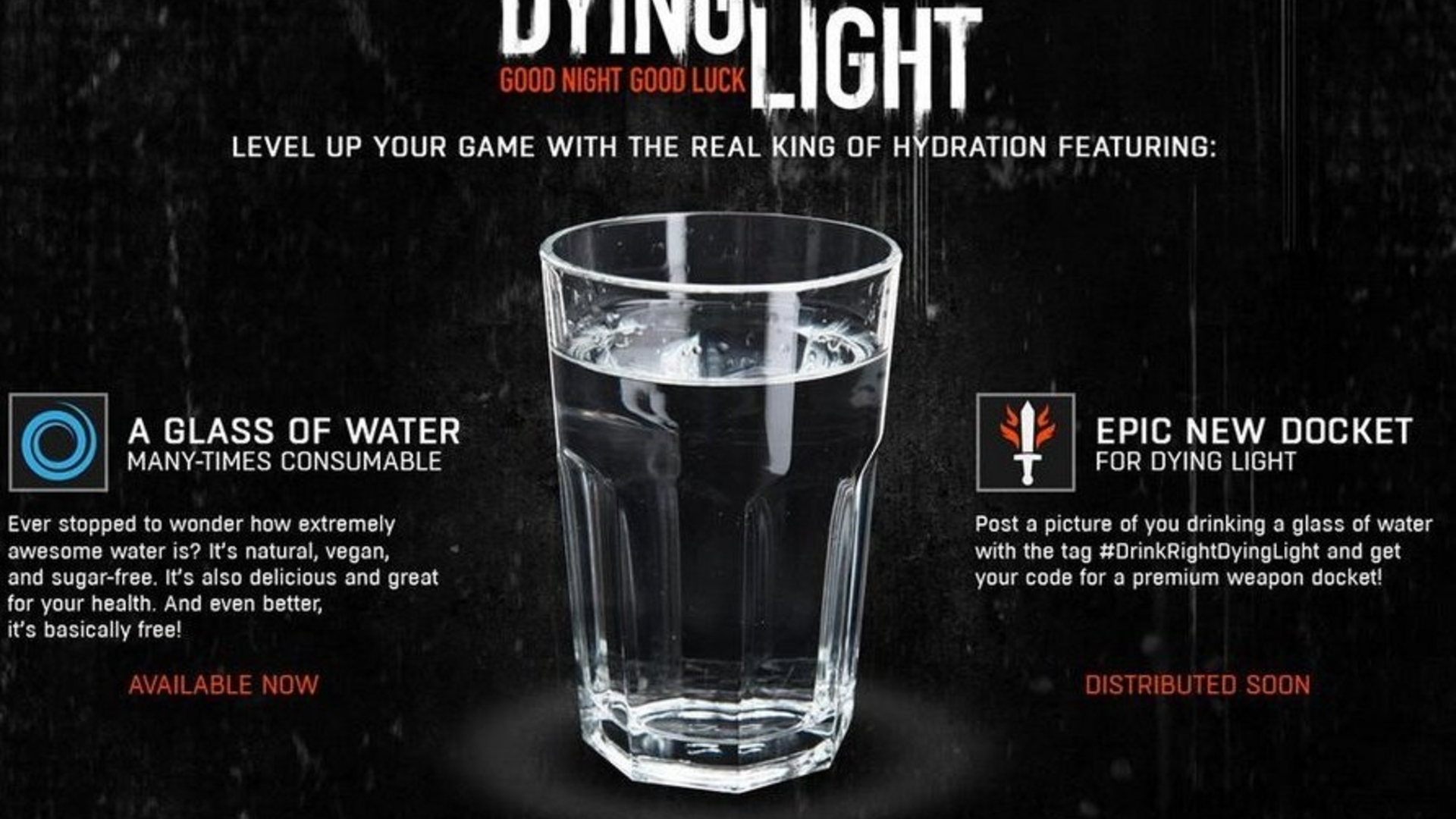 Dying Light dev takes the piss out of Destiny's Red Bull promo
