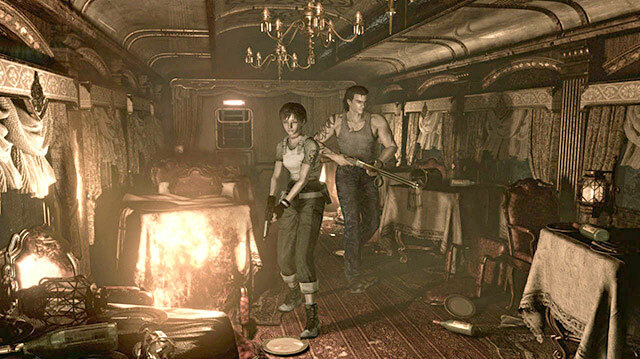 Resident Evil 0 HD Remaster Gameplay Has Zombie Train Conductor, Leech Monster