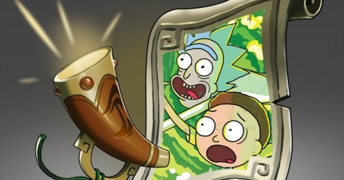 Dota 2 S Rick And Morty Announcer Pack Out Now Eurogamer Net
