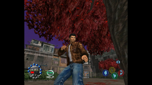 Punching a Tree is the Next Step in Shenmue 2 on Xbox