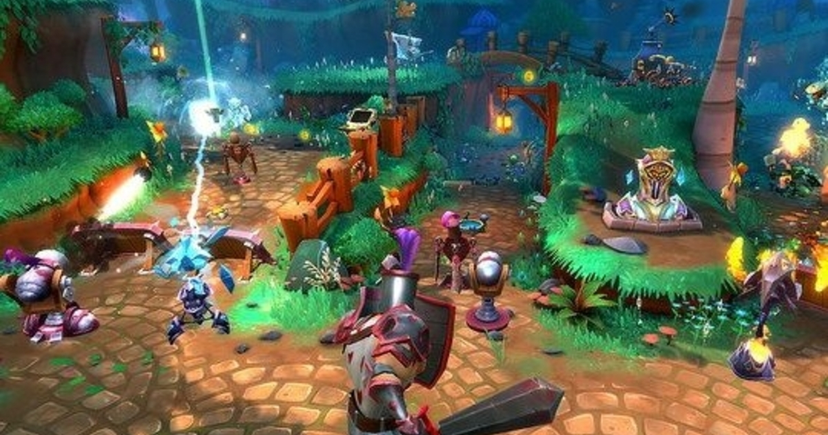 Dungeon defenders 2 arrives on playstation 4 in pre alpha form - Dungeon defenders 2 console ...