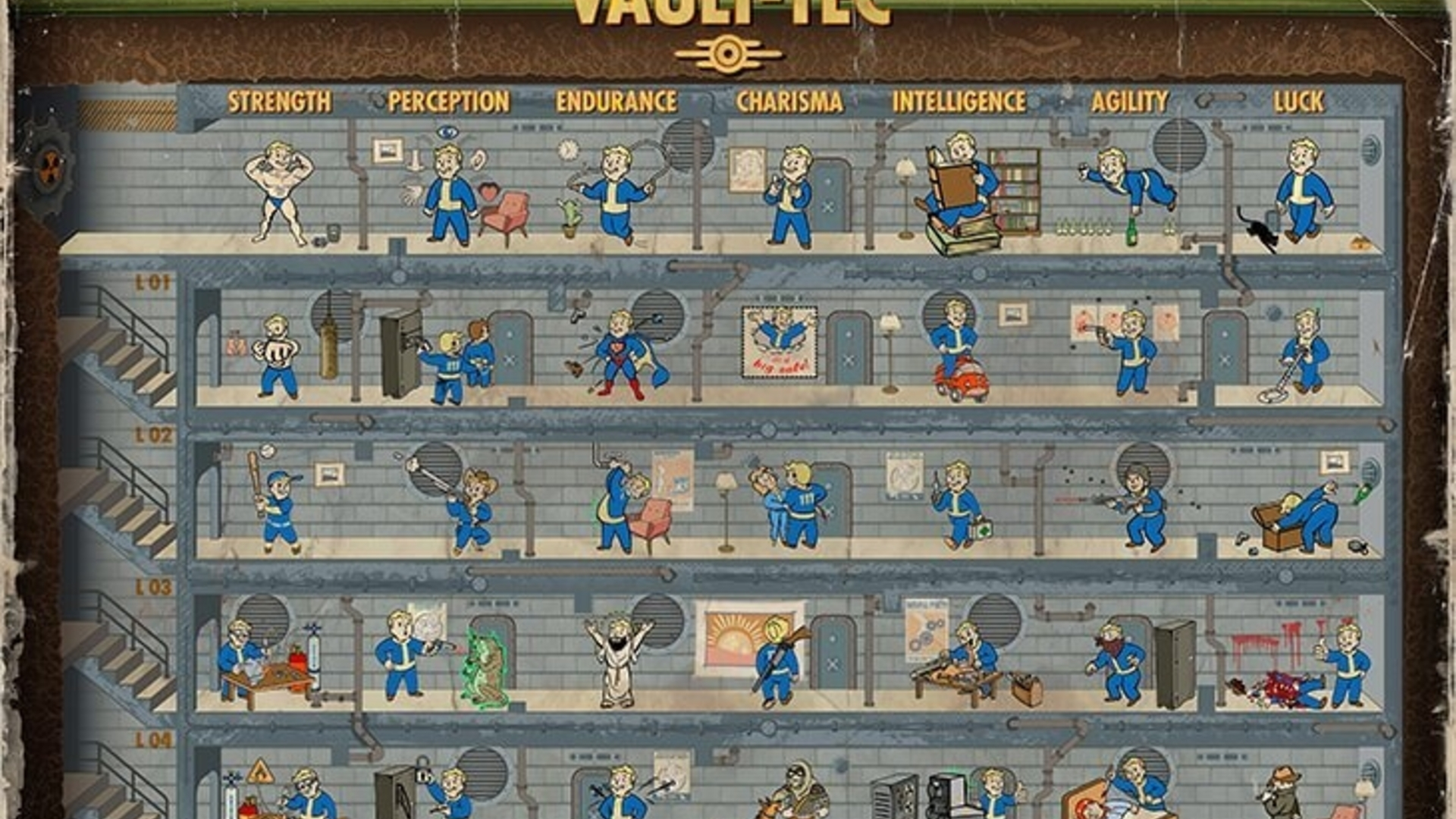 Fallout 4 completely revamps the way perks work ...