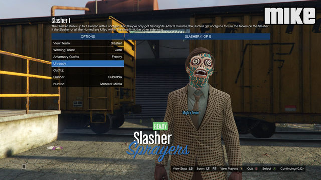 Guess Who Makes the Best Slasher in GTA Online's Slasher Mode