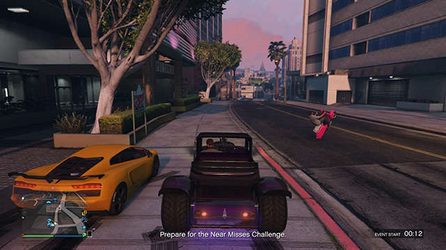 We Try to Not Collide With Things in GTA Online Freemode Challenges