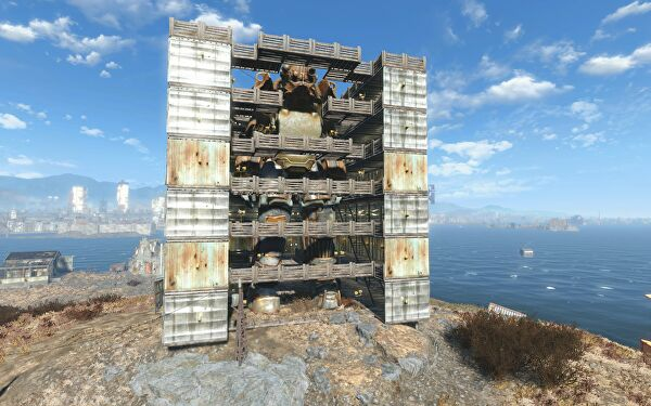 Fallout 4 Base Builders Are Using Mods To Create