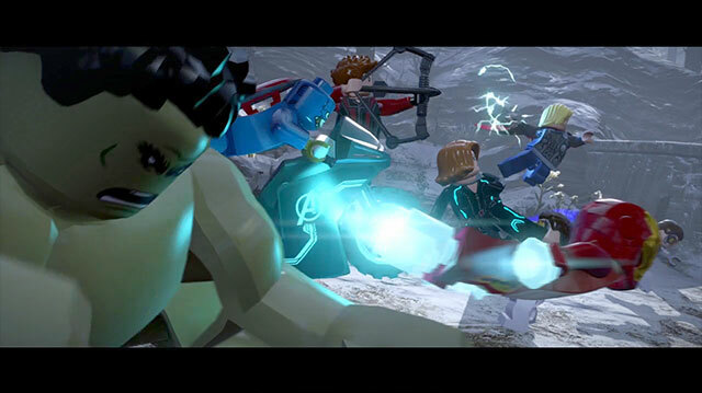 Here is the Money Shot from Avengers: Age of Ultron But in Lego