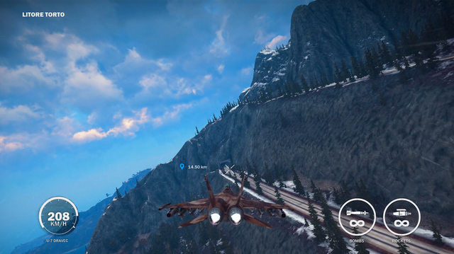 Tunnel Beats Jet in Just Cause 3 Oxbox Xmas Challenge