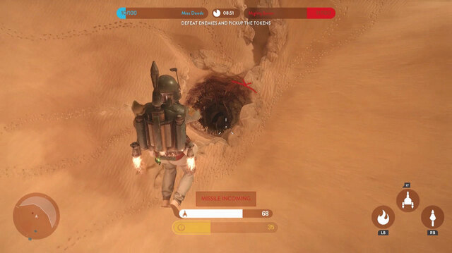 Boba Fett Returns to the Sarlacc Pit in Star Wars Battlefront
