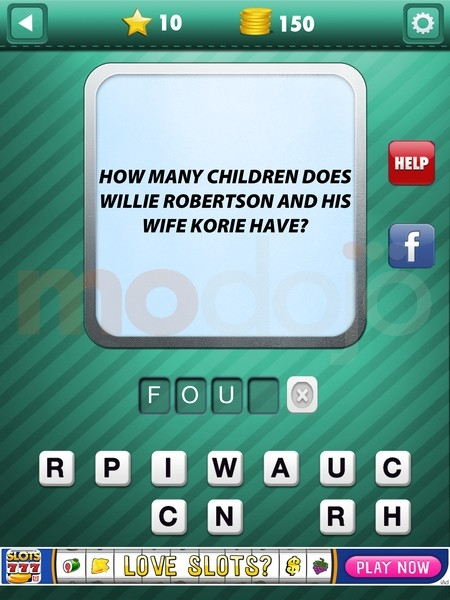 Addictive Trivia: Duck Dynasty Answers, Solutions & Cheats: 11-20