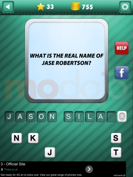 Addictive Trivia: Duck Dynasty Answers, Solutions & Cheats: 31-36