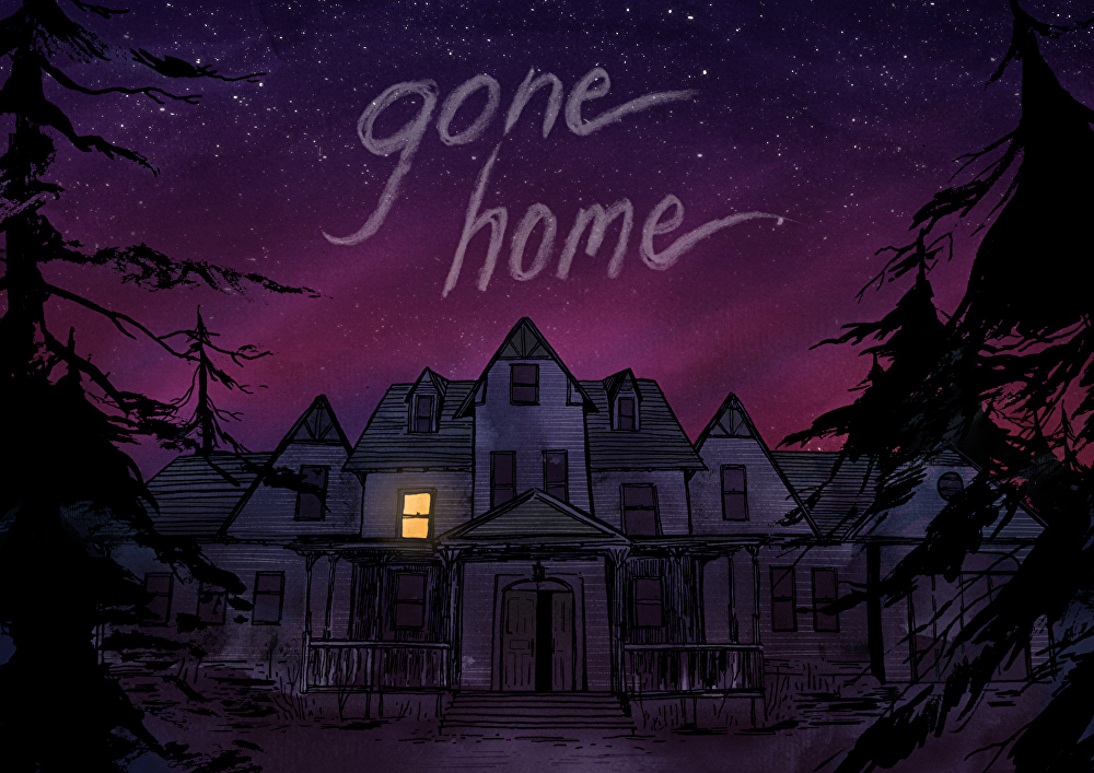 Image of Gone Home print