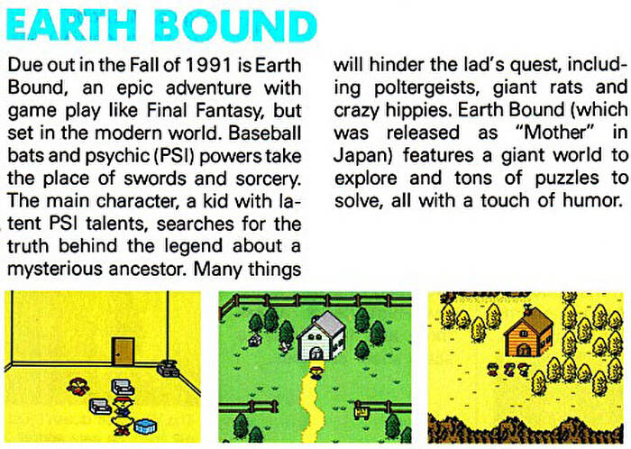 Daily Classic: 25 Years Ago, Mother (aka EarthBound Zero) Skewered
