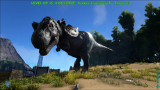 Dinosaur rendering is a high point in Ark, although these elements still need work. We see a fair amount of detail but surface shaders appear rather basic, giving the dinosaurs more of a rubbery or plastic-like look.